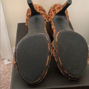 GoJane Shoes - Cheetah Print Heels